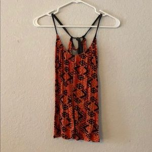 Urban outfitters Ecote geometric halter top